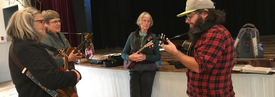 Ukulele class, Haverhill, NH I Tiny Village Music